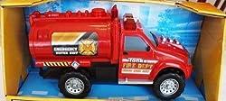 Tonka Mighty Fleet Fire Department Water Tank Unit with Hyper Lighting