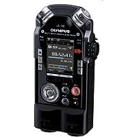 Olympus PCM LS-100 - Grabadora portátil versión estándar (grabación lineal multipista), color negro