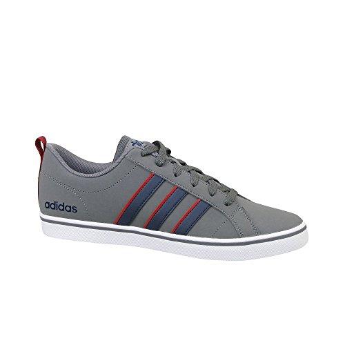 adidas Vs Pace, Scarpe da Ginnastica Basse Uomo Grigio (Grey Four/collegiate Navy/scarlet 0)