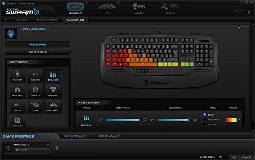 Roccat Ryos MK FX RGB Mechanische Gaming Tastatur (DE-Layout, Per-key, RGB Multicolor Tastenbeleuchtung, MX Key Switch RGB braun) - 9