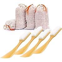 Lantelme 7325 Set 8 tlg. Zedernholz Antigeruchsäckchen und Schuhlöffel mit integrierter Schuhbürste preisvergleich bei billige-tabletten.eu
