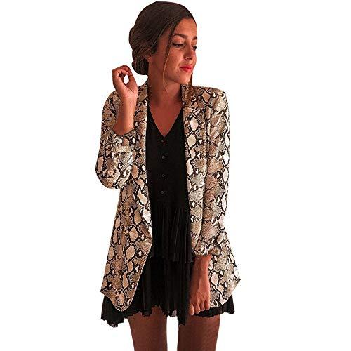 Preisvergleich Produktbild i-uend 2019 Damen Mantel, Winter Warmer Damen Blazer Bikerjacke Outwear Oberteile Winterjacke Steppjacke Plüschmantel Mantel