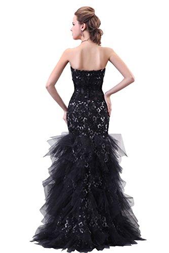 robe de mariage dentelle tulle Noir
