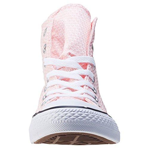 Converse Damen CTAS Hi Sneakers White/Vapor Pink/White