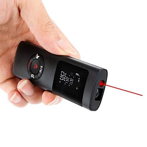 promise2301 USB-wiederaufladbarer Mini-Laser-Entfernungsmesser, 40 m, elektronisches Messgerät, Entfernungsmessgerät, Infrarot-Lasermessung