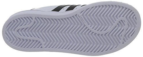 adidas - Superstar Foundation, Senakers a collo basso infantile Bianco