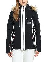 Ultrasport Veste de ski fonctionnelle Softshell Snowflake pour femme avec Ultraflow 8.000