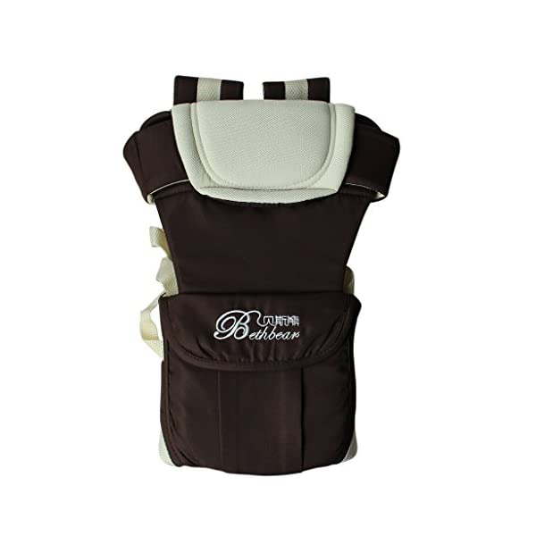 """GudeHome Baby Carrier 4 Positions Backpack, Front Facing, Kangaroo & Sling Lightweight Infant Carrier GudeHome COMFORT AND SECURITY - We know how important it is to you as the consumer to have a product that you can rely on and with peace of mind. That confidence you feel when you know your product was worth every penny! """"The proof is in the pudding"""" they say. Our double sling design provides extra security for baby and privacy while nursing. An adjustable shoulder belt and waist belt are made for safer carrying with a double-protection safety buckle eloquently designed just for your maximum comfort! EVERYTHING YOU EVER WANTED in a baby carrier can be found in flexible, lightweight, and ergonomic baby carrier. Our unique and comfortable carrier allows for FOUR safe carrying positions. The Backpack, Kangaroo, Front-Facing, & Sling positions can all be used based on your mood and comfort. This carrier provides plenty of back support. It sits on both shoulders to take stress off the back. No other baby carrier offers such a variety of positions and styles to carry your baby! QUALITY IS OUR PRIORITY - You may be thinking what separates this baby carrier from other brands that are made of cheap quality and initially seem fine, but soon after begin to fail. The baby carrier is made of top quality and premium material that is meant to last over a long-term period and designed to be the best and last brand of baby carrier you ever have to buy! 25"""