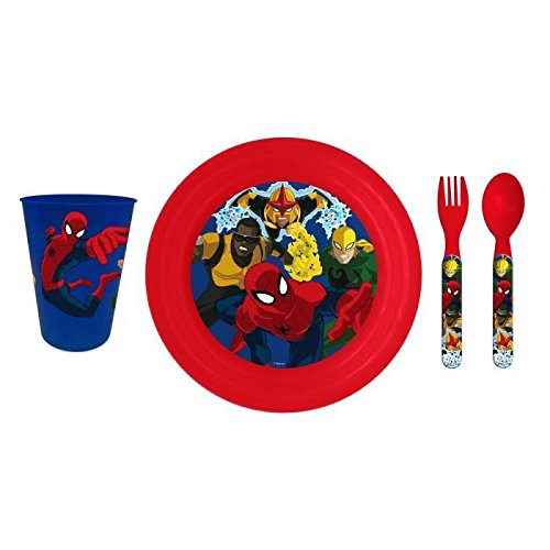 spiderman-set-dejeuner-4pcs-pique-nique