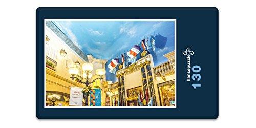 hansepuzzle 18204 Gebäude - Hotel Paris, 130 Teile in hochwertiger Kartonbox, Puzzle-Teile in wiederverschliessbarem Beutel. -