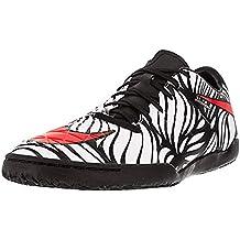 (Renewed) Nike Mens Hypervenom Phelon II Neymar Jr Indoor Soccer Shoes(Black/Bright Crimson/White) (9)