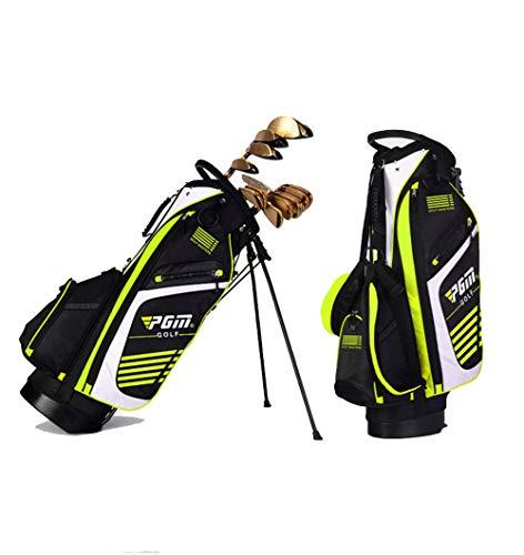 LXYIUN Golftasche,Ultraleicht Hohe Kapazität Halterung Waffentasche,Green