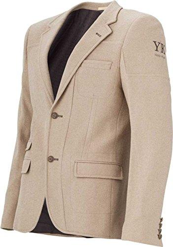 YAKE by S.O.H.O. NEW YORK Sakko Herren Slim Fit - Blazer Herren Sportlich Sheffield Beige_003