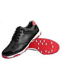 FUBULE Zapatos de Golf Zapatos sin Puntas para Hombres Impermeable Antideslizante Ligero Suave Resistente a la abrasión Multifuncional al Aire Libre