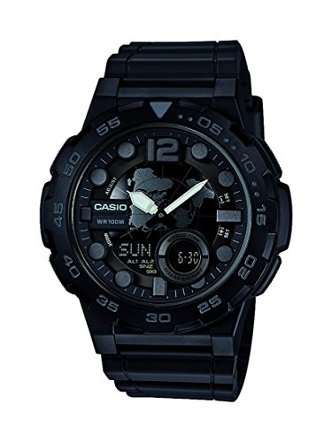 Casio Collection Herren-Armbanduhr AEQ-100W-1BVEF