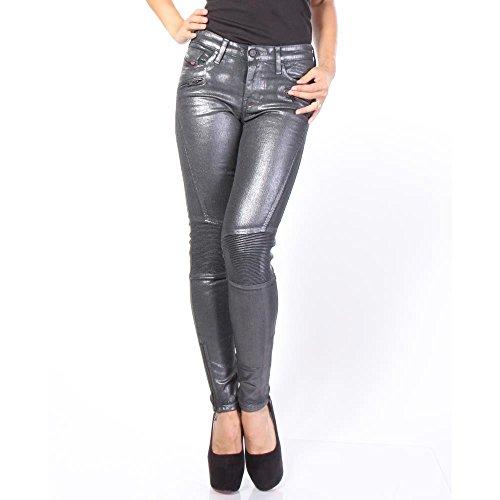 "Damen Jeans ""Skinzee BK 844Q"" Grau"