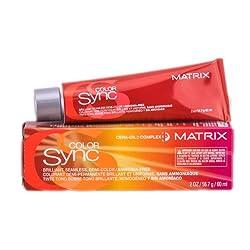 Matrix Color Sync Seamless Creme Demi-Color Ammonia Free 8CG Copper Gold