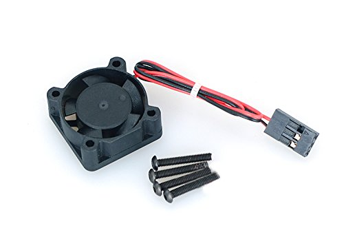 Zhuhaixmy 5V 2510 Double Ball Bearing Fans Cooling Fans Part Doppelt Kugel Kugellager Kühlung Lüfter for 1/14 Scale LC Racing Cars