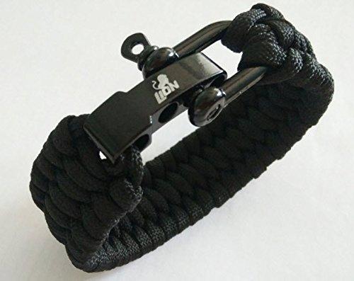 Lion Original Einstellbares Paracord Survival Überlebens-Armband