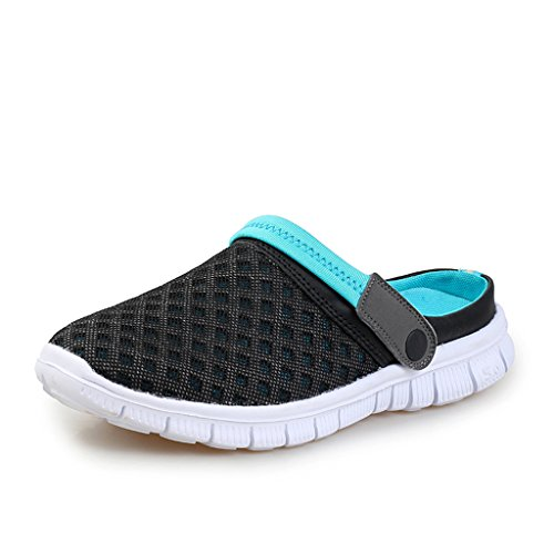 DoGeek Breathable Mesh Net Slippers Unisex Men Women Casual Sandals Cool Summer Beach Shoes Hollow Sandals for Outdoor Sports