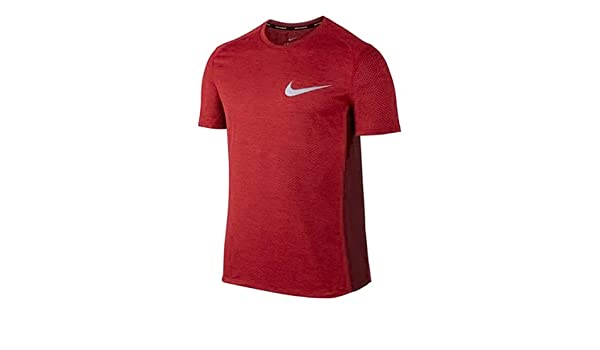 Nike Herren M NK Dry Miler TOP SS COOL Laufshirt