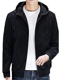f26fbe281984 ODRD Clearance Sale  M-4XL  Herren Damen Pullover Männer Hoodie Reine Farbe  Zipper Pocket Jacke Parka Pulli Sweatshirt Freizeit…