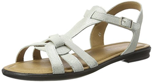 Ricosta Davona, Sandales  Bout ouvert femme Weiß (bianco)