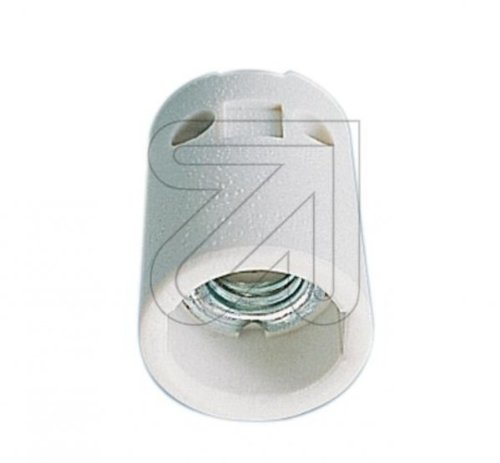Leuchten Lampen Porzellan Fassung E14 mit 2 Befestigungslöchern -