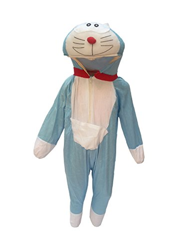 KFD Doremon Fancy dress for kids,Diseny Cartoon Costume for Annual function/Theme Party/Stage Shows/Competition/Birthday Party Dress