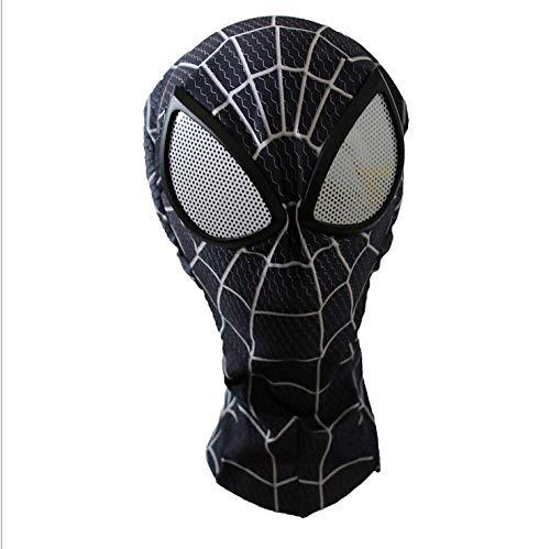 LCRBT Spiderman Mask Kostüm Cosplay Hood Adult Teens,I (Spiderman Kostüme Teenager)