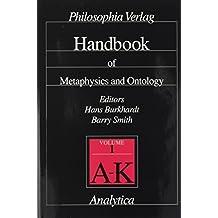 Handbook of Metaphysics and Ontology (Analytica)
