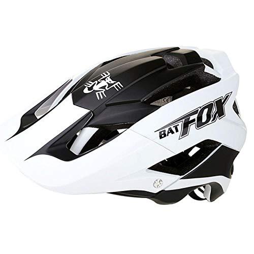 BATFOX Fahrradhelm in-Moulded verstärkendes Skelett, Mountainbike-einteiliger Sport-Outdoor-Schutzhelm F-659, Cosy-TT