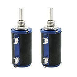 Wxd3–13 2 W 10 K Ohm Multi Turn Wirewound Potentiometer Topf 2 Pcs