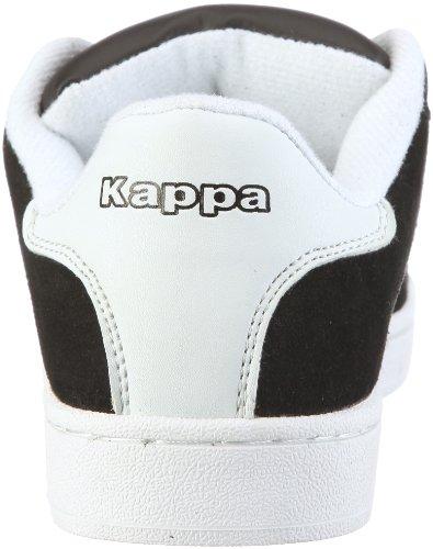 Kappa DWIGHT 241326 Unisex-Erwachsene Sneaker Mehrfarbig (1110 BLACK/WHITE 1110 BLACK/WHITE) O8inX