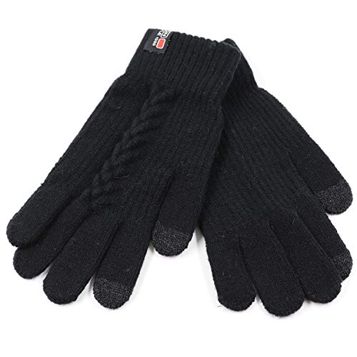 Dependable Adult Men Unisex Ribbed Knitted Elastic Half Finger Fingerless Gripper Gloves Textured Dots Anti-skid Wrist Warmer Magic Sport Long Performance Life Men's Gloves