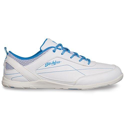 KR Strikeforce Ladies Capri Lite Bowling Shoes- White Blue White/Blue Size 7.5