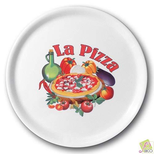Lot de 6 assiettes à pizza Vérone - D 31 cm - Napoli