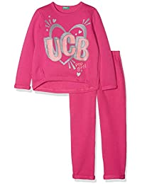 United Colors of Benetton Set Sweater+Trousers Conjunto (Pack de 2 para Niñas
