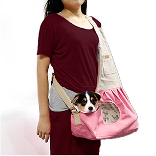 gadiemenss-nature-canvas-carrier-pet-sling-bag-with-extra-pocket-single-shoulder-carry-bag-for-small