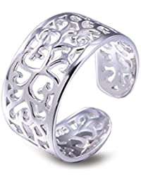 VIKI Lynn plata esterlina 925 ajustable del dedo del pie regalo Carino para fina señorías