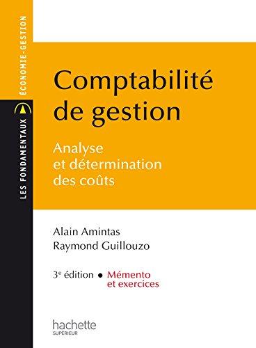 Comptabilité de gestion par Alain Amintas