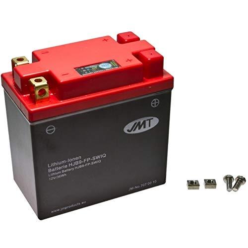 Preisvergleich Produktbild JMT Lithium Motorrad Batterie HJB9-FP für Wolf Legend 125 Bj. 2006-2007