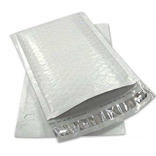 Sales4Less #3 Poly Luftpolsterversandtaschen, 21,6 x 36,8 cm, selbstklebend, wasserdicht, gepolstert, 50 Stück (Mailer Poly 10x12)