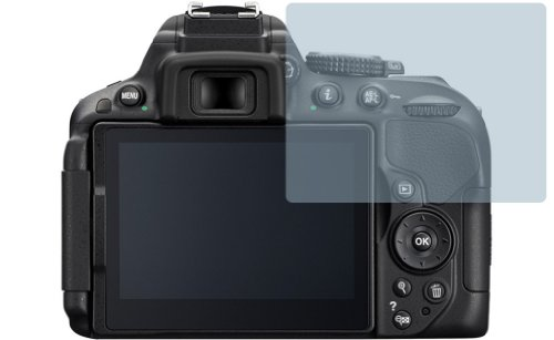 2x Nikon D5300 ENTSPIEGELNDE Displayschutzfolie Bildschirmschutzfolie Schutzhülle Displayschutz Displayfolie Folie