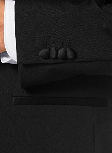 Keskin Class Smoking Schwarz, Anzug verfügbare Größen 46-56 / 25-27 / 90-110 Schwarz