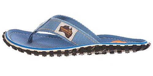 Gumbies Islanders Adulto Sandali Infradito Calzature Da Spiaggia Numero eu 36 - 12 UK Blu (Azzurro)