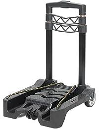 YiJee Diable Pliant Télescopique Mini Chariot avec Corde Élastique 50 Kg