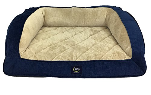serta-orthopedic-quilted-couch-navy