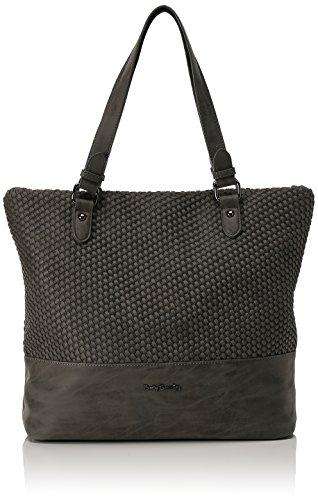 Betty Barclay Shopper Bag, cartable femme, Grau (Cool Grey), 16x34x39 cm (L x H D)