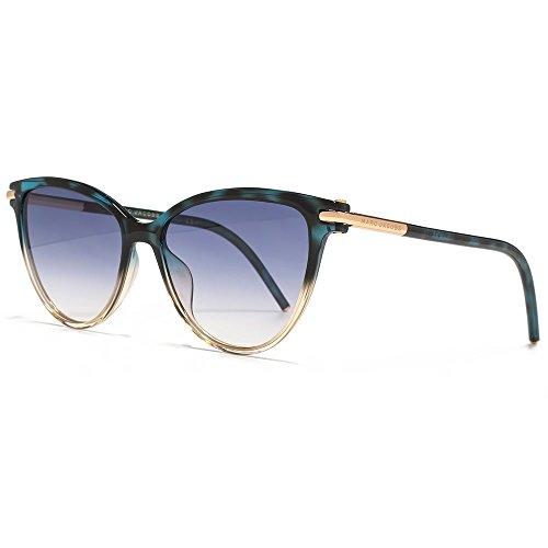 Marc Jacobs Damen Sonnenbrille Marc 47/S 08 Toz, Teal Pink/Dk Blue Sf, 53 - Marc Jacobs Bekleidung